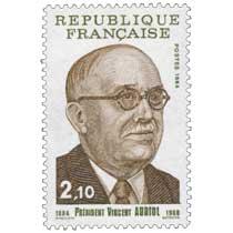1984 PRÉSIDENT VINCENT AURIOL 1884-1966