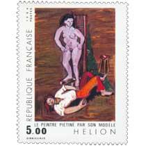 1984 HÉLION LE PEINTRE PIÉTINÉ PAR SON MODÈLE