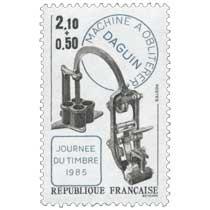JOURNÉE DU TIMBRE 1985 MACHINE À OBLITÉRER DAGUIN
