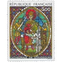 1985 CATHÉDRALE DE STRASBOURG