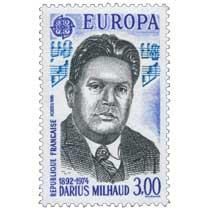 1985 EUROPA CEPT DARIUS MILHAUD 1892-1974