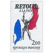 1985 RETOUR À LA PAIX