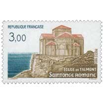1985 ÉGLISE DE TALMONT Saintonge Romane
