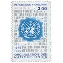 ORGANISATION DES NATIONS UNIES 1945-1985