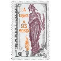 1985 LA FRANCE À SES MORTS