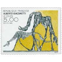 1985 ALBERTO GIACOMETTI LE CHIEN