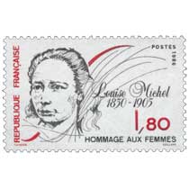 1986 HOMMAGE AUX FEMMES Louise Michel 1830-1905