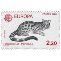 1986 EUROPA CEPT genette