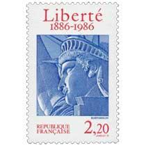 Liberté 1886-1986 BARTHOLDI