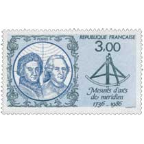 Mesures d'arcs de méridien 1736-1986 MAUPERTUIS CONDAMINE