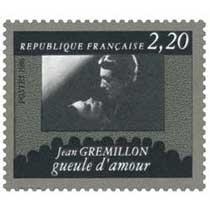 1986 Jean GRÉMILLON gueule d'amour