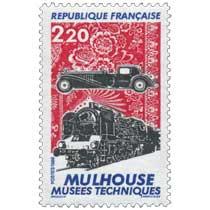 1986 MULHOUSE MUSÉES TECHNIQUES