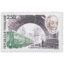 1987 F. BIENVENUE 1852-1936 LE METRO