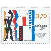 1987 LE CORBUSIER 1887-1965