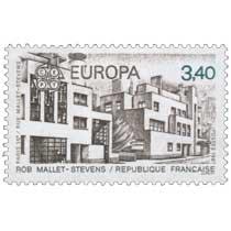1987 EUROPA CEPT ROB MALLET-STEVENS PARIS 16e / RUE MALLET-STEVENS