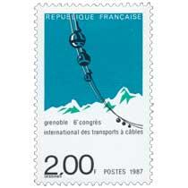 1987 Grenoble 6e congrès international des transports à câbles