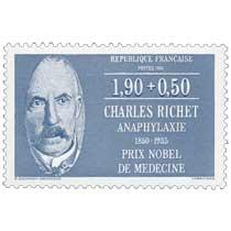 1987 CHARLES RICHET ANAPHYLAXIE 1850-1935 PRIX NOBEL DE MÉDECINE