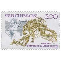 1987 CHAMPIONNATS DU MONDE DE LUTTE