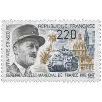 1987 GÉNÉRAL LECLERC-MARECHAL DE FRANCE 1902-1947 KOUFRA-PARIS-STRASBOURG