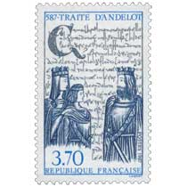 1987 587-TRAITÉ D'ANDELOT