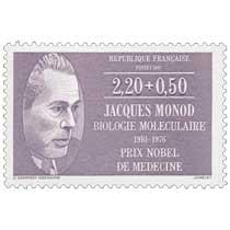 1987 JACQUES MONOD BIOLOGIE MOLÉCULAIRE 1910-1976 PRIX NOBEL DE MÉDECINE