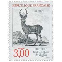 1988 HISTOIRE NATURELLE de Buffon LE CERF