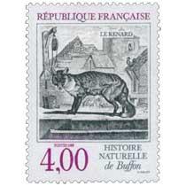 1988 HISTOIRE NATURELLE de Buffon LE RENARD