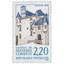 1988 CHÂTEAU DE SÉDIÈRES CORRÈZE