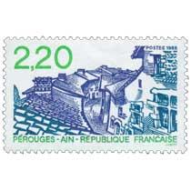 1988 PÉROUGES - AIN