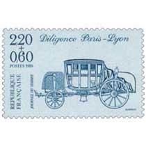 1989 JOURNÉE DU TIMBRE Diligence Paris-Lyon