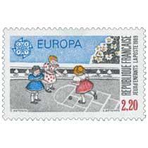 1989 EUROPA CEPT JEUX d'ENFANTS