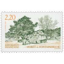 1989 FORÊT de FONTAINEBLEAU