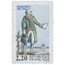 1989 CONDORCET 1743-1794