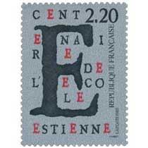 1989 CENTENAIRE DE L'ÉCOLE ESTIENNE