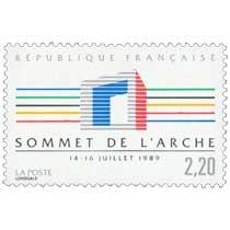 SOMMET DE L'ARCHE 14 -16 JUILLET 1989