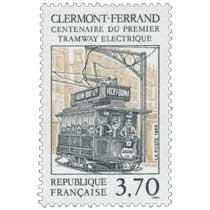 1989 CLERMONT-FERRAND CENTENAIRE DU PREMIER TRAMWAY ÉLECTRIQUE