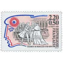 1989 VICOMTE DE NOAILLES 1756-1804