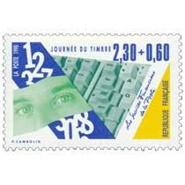 1990 JOURNÉE DU TIMBRE Les Services Financiers de la Poste