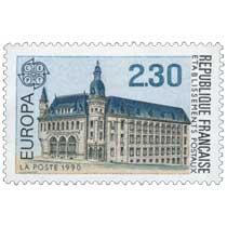 1990 EUROPA CEPT ÉTABLISSEMENTS POSTAUX