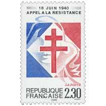 1990 18 JUIN 1940 APPEL À LA RÉSISTANCE