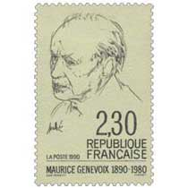1990 MAURICE GENEVOIX 1890-1980