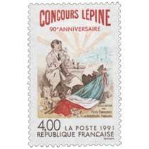 1991 CONCOURS LÉPINE 90e ANNIVERSAIRE ASSOCIATION DES PETITS FABRICANTS et INVENTEURS FRANÇAIS