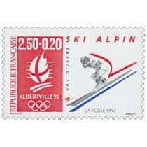 1992 ALBERTVILLE 92 SKI ALPIN VAL D'ISÈRE