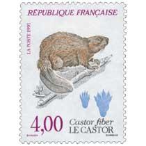 1991 LE CASTOR Castor fiber