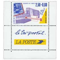 1991 JOURNÉE DU TIMBRE Le tri postal