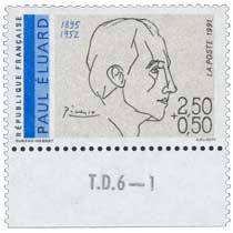 1991 PAUL ÉLUARD 1895-1952