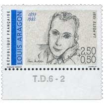 1991 LOUIS ARAGON 1897-1982