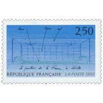 1992 le pavillon de la France à Séville