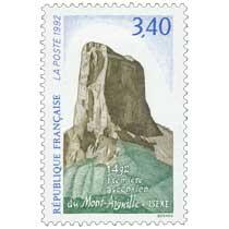 1992 Première ascension du Mont-Aiguille. Isère 1492