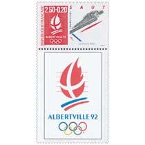 1990 ALBERTVILLE 92. JEUX OLYMPIQUES D'HIVER, SAUT. TYP